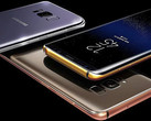 Samsung Galaxy S8 flagships customized by Truly Exquisite in 24K gold, 18K rose gold, and platinum