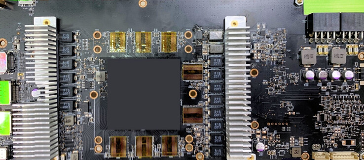 AIB engineering sample RX 6800(XT) custom board layout (Image Source: Videocardz)