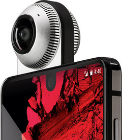 Novel accessories such as the 360-degree camera didn't help set alight sales for the PH-1. (Source: Essential)