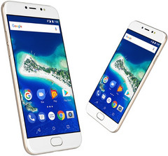 General Mobile GM 6 Android One smartphone with Nougat and MediaTek MT6737T processor