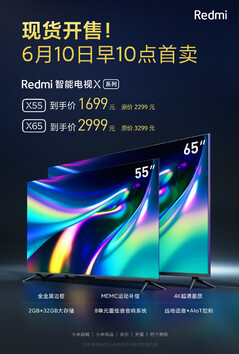 Redmi Smart TV X promo material. (Image source: Xiaomi)