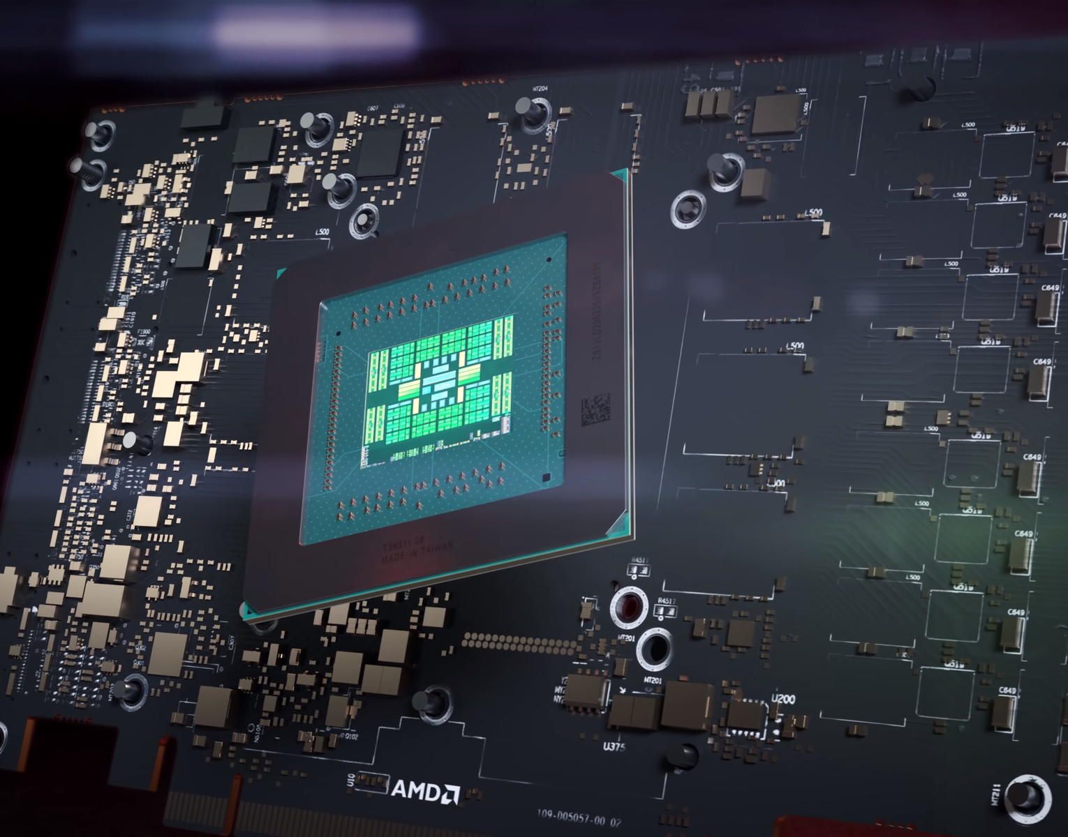 First Alleged Amd Rdna2 Navi 2x Engineering Sample Spotted In The Wild Notebookcheck Net News