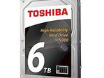 Toshiba N300 6 TB high-reliability hard drive for NAS