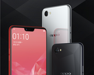 The Oppo A3 gets with the times, prominently featuring the trendy notch. (Source: Oppo)