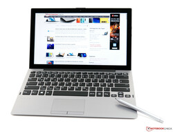 The VAIO A12 convertible review. Test device courtesy of Cyberport.
