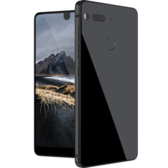 The Essential Phone's titanium and ceramic exterior means it won't blemish like its competitors. (Source: Essential)