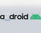 The Android logo takes on Galaxy Unpacked branding for some reason. (Source: Twitter)