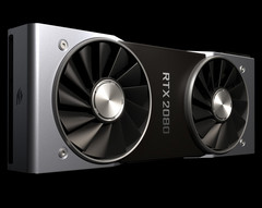 The Founders' Edition of the new RTX 2000-series comes with a dual-fan design. (Source: Nvidia)