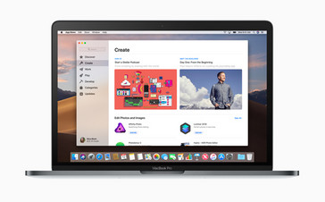 Apple macOS Mojave redesigned App Store