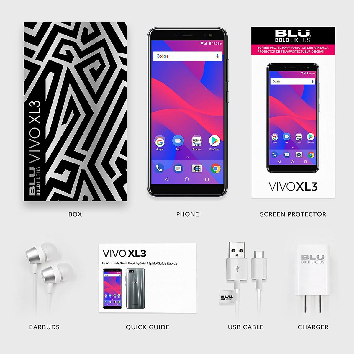 5 5 Inch Blu Vivo Xl 3 Hits Amazon With Android Oreo