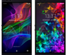 The Razer Phone on the left and the Razer Phone 2 on the right. (Source: Phone Arena)