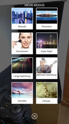 Interface: photo settings
