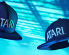 The Atari Speakerhat is a baseball style cap with stereo Bluetooth speakers sewn into the brim. (Source: Atari)