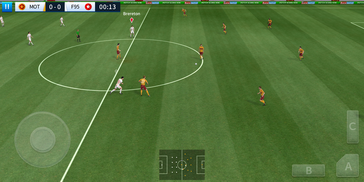 Dream League Soccer on the HTC Desire 12 Plus