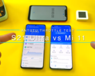 Two 2021 Android flagships go head to head. (Source: YouTube)