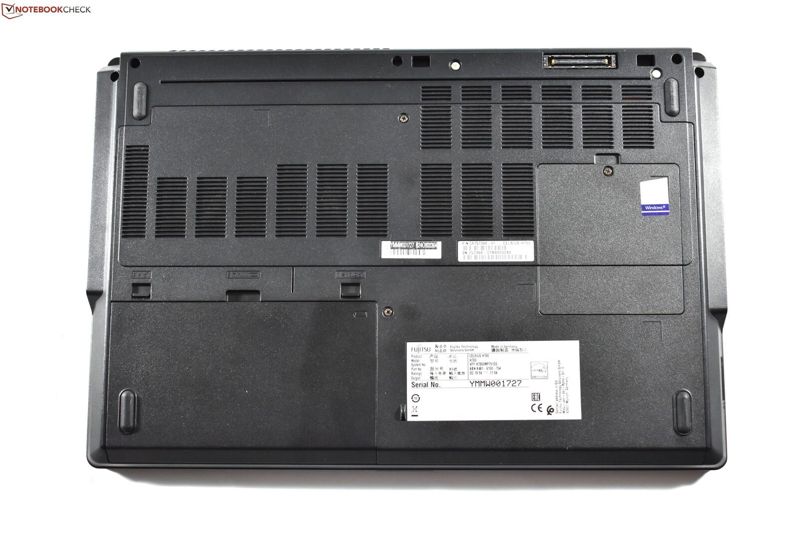 Fujitsu Celsius H780 I7 8850h P2000 Fhd Workstation