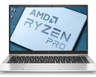 An AMD Ryzen 7 PRO 5850U chip was tested inside an HP EliteBook 845 G8. (Image source: HP (G7 model)/AMD - edited)