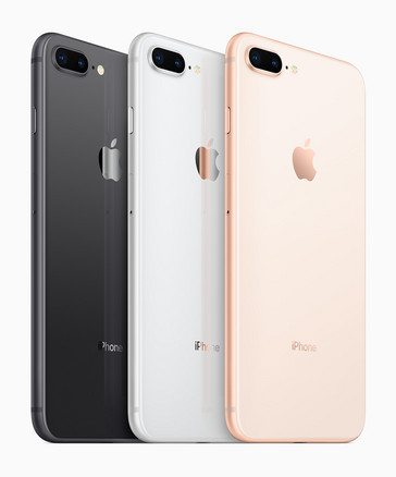iPhone 8 and 8 Plus color options (Source: Apple)