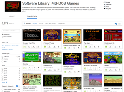 While not ideal, websites like Archive.org offer extensive catalogs with games of varying quality. (Image via Archive.org)