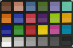 ColorChecker Passport: Target colors are displayed in the lower half of each patch.