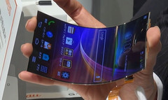 Apple looks set to tap LG for its pOLED tech for a rumored foldable iPhone. (Source: LG)