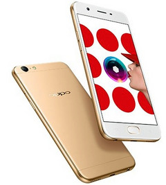 Oppo A57 Android smartphone with 16 MP front camera and Qualcomm Snapdragon 435