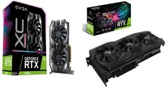There are decent savings to be had on RTX 2080 cards from EVGA, Asus, and others. (Source: Walmart)