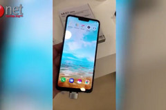 The scrapped LG G7 design replete with copycat notch. (Source: Ynet)