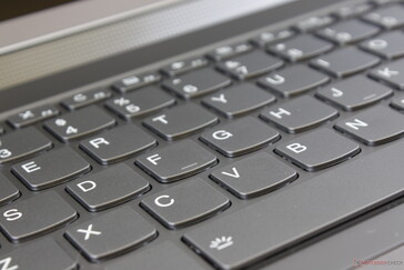 Key feedback is not as firm or satisfying to type on when compared to high-end ThinkPad T series laptops