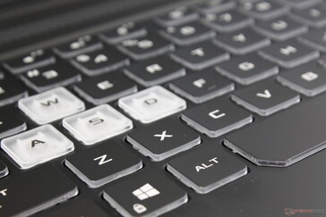 QWERTY keys are comfortable for typing