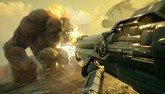 The main playable character, Walker, has special abilities given to him by nanotrites. (Source: Bethesda)