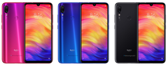 Indian variants of the upcoming Xiaomi Redmi Note 7 Pro. (Source: Twitter/Ishan Agarwal)