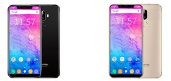 Color variants of the Oukitel U18