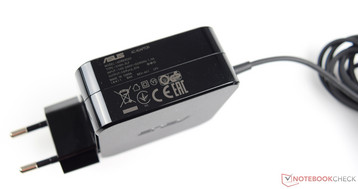 The power supply delivers a maximum of 45 watts.