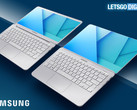 Samsung could be upping the ante when it comes to bezel-less designs on laptops. (Source: LetsGoDigital)