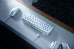 The Huntsman Mini is available in black and white with RGB lighting. (Image source: Razer)