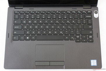 Identical keyboard layout to the Latitude 7400 2-in-1