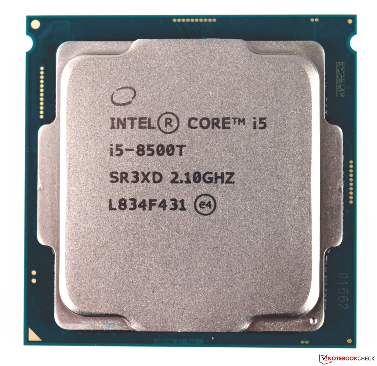 Intel Core i5-8500T (6 cores, 6 Threads, 2 1 GHz, 35 W