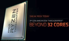 More AMD Ryzen Threadripper processors - including the unconfirmed 3980X coming in early 2020 (Source: AMD)