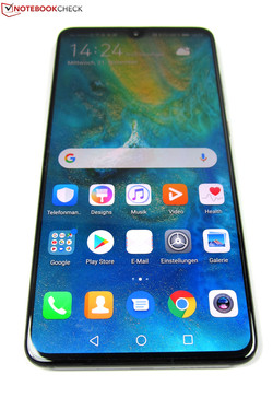 The Huawei Mate 20 smartphone review. Test device courtesy of Huawei Germany.