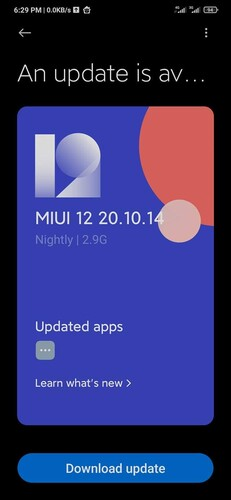 The first Android 11 build for tucana is 20.10.14. (Image source: Adimorah Blog)