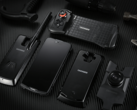 The Doogee S90 comes with 4 modules: the powerbank, the night vision camera, the walkie-talkie and the game controller. (Source: Doogee)