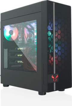 The RIOTORO CR400 is a budget Mid-Tower case that supports ATX, microATX and mini-ITX motherboards. (Image source: RIOTORO)