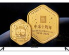 The Redmi Max 98 has sold out again and fans can buy Xiaomi gold coins. (Image source: YouPin/Xiaomi - edited)