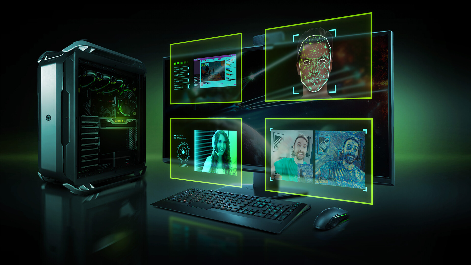 NVIDIA announces RTX Broadcast Engine, bringing AI tech to livestreaming