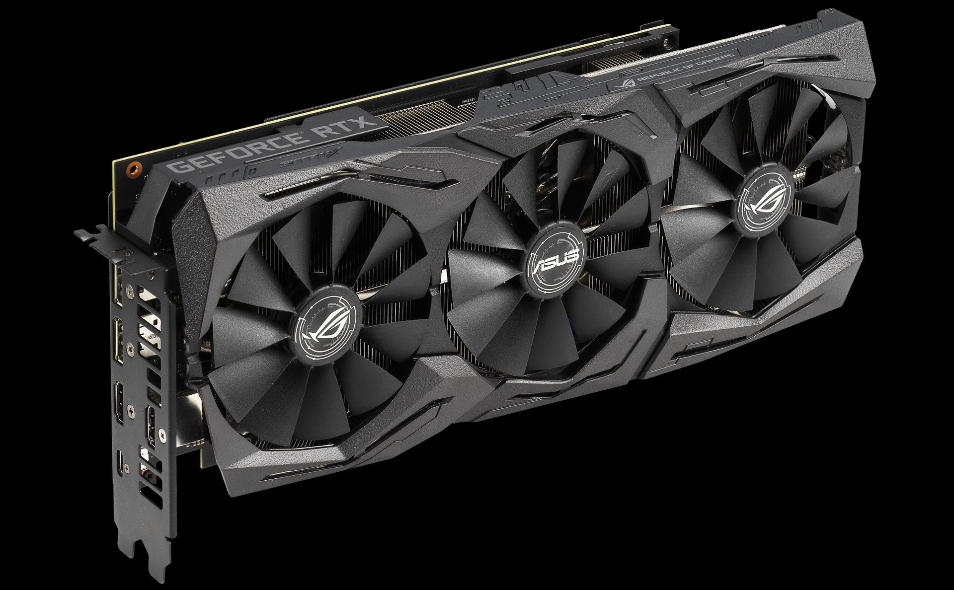 Triple-fan Asus Strix RTX 2070
