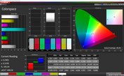 CalMAN color space Vivid (DCI-P3)