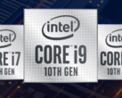 Intel breaks the 5 GHz barrier at 45W TDP with the 10th gen Comet Lake-H lineup. (Image Source: Intel)