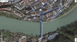 GPS test: Samsung Galaxy S20+ - Bridge