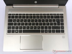 HP ProBook 445 G7 - Keyboard